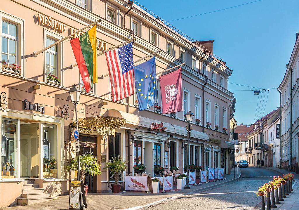 Imperial Hotel Restaurant front - Imperial Hotel & Restaurant: a luxury stays in Vilnius