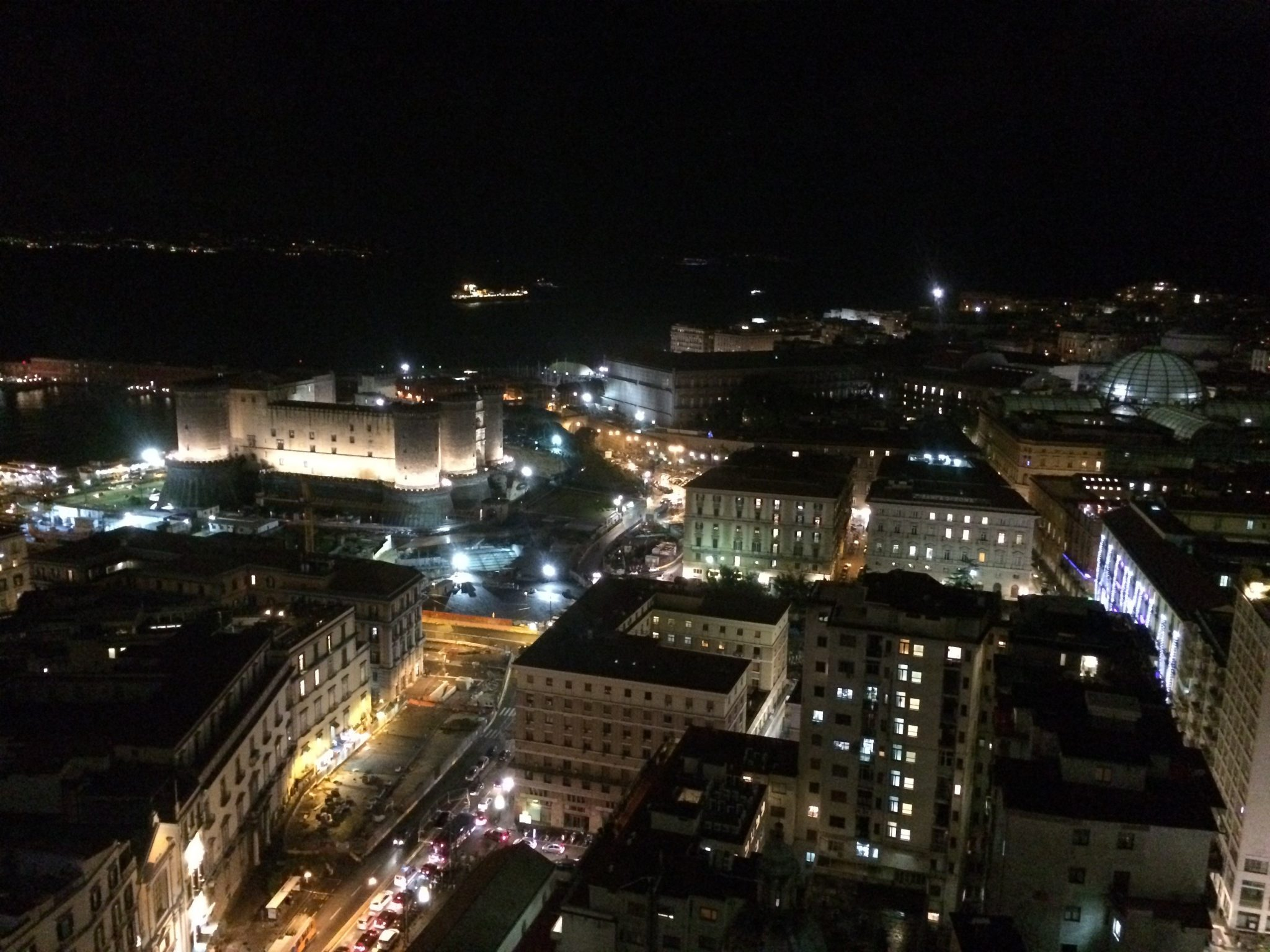 A Michelin star dinner in Naples