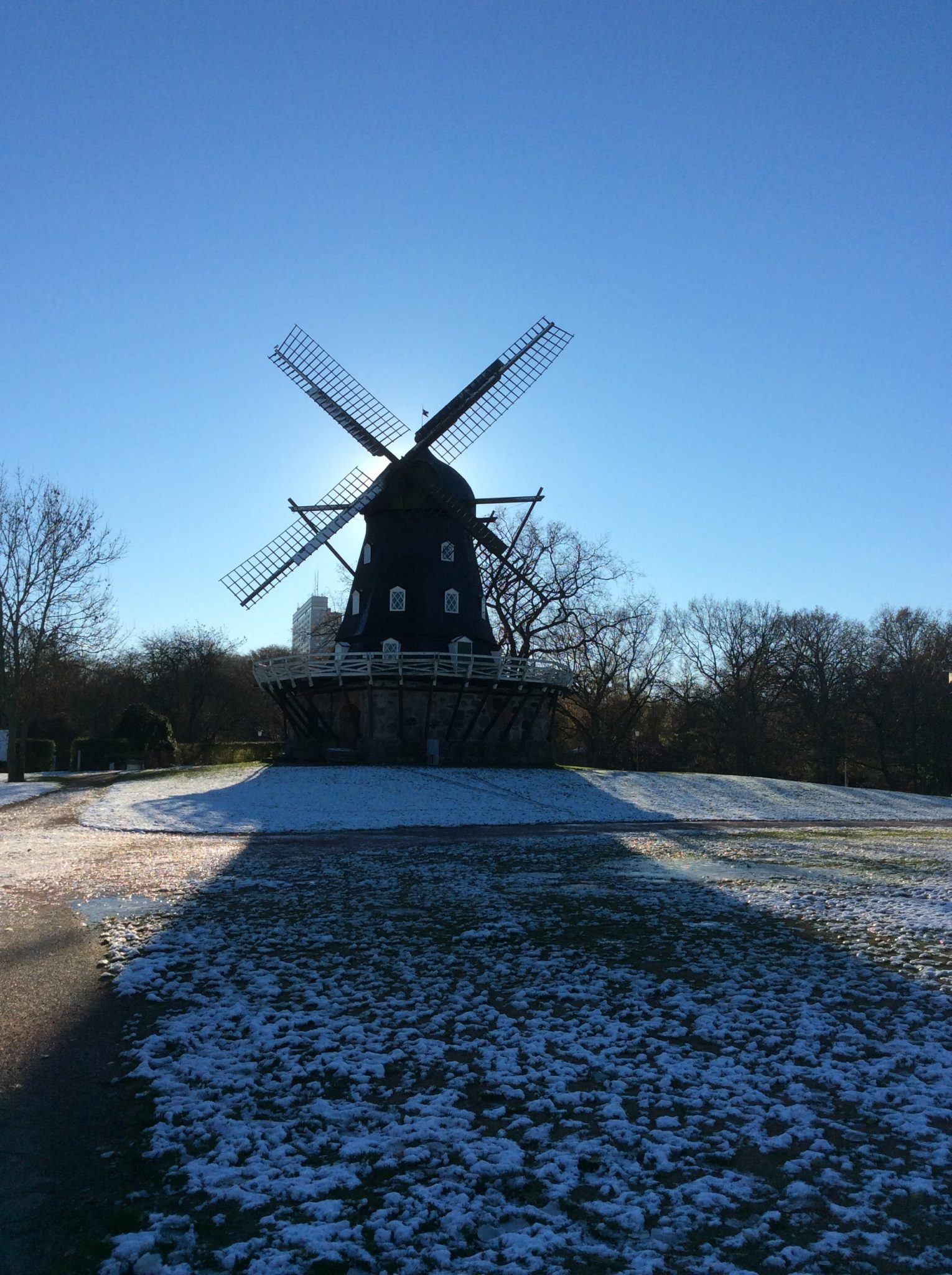 The parks in Malmö: walking in 19th century: