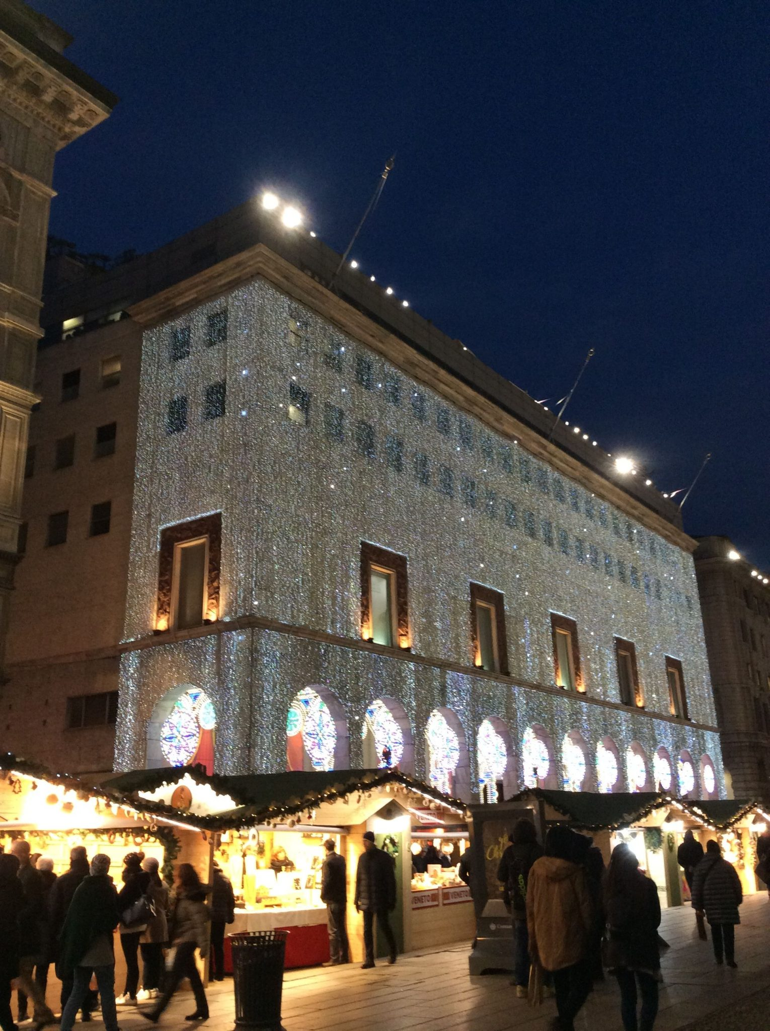 Christmas in Milan: lights, shops and market