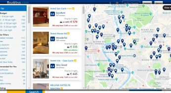 Booking.com: how to book an accomodation