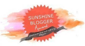 Nomination to Sunshine Blogger Award