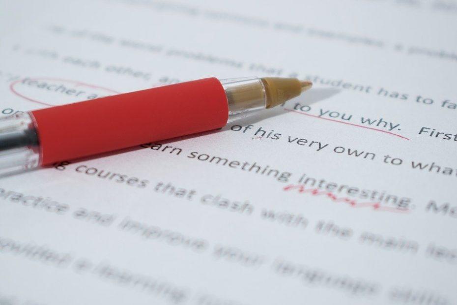 freelance proofreader