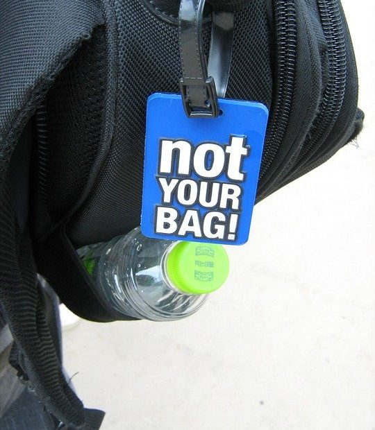 recognize your suitcase