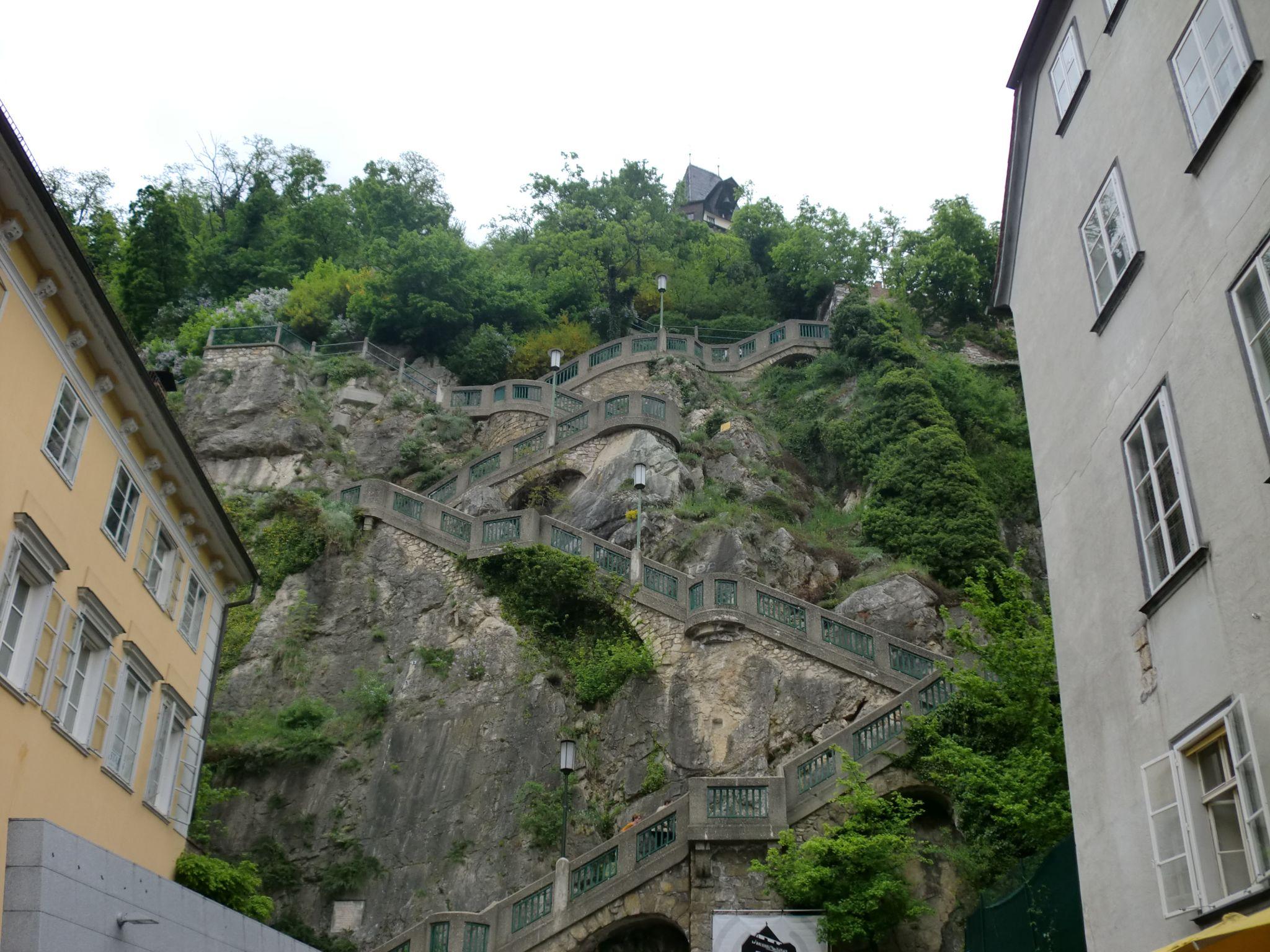 Graz hill - Graz: tradition and modernity