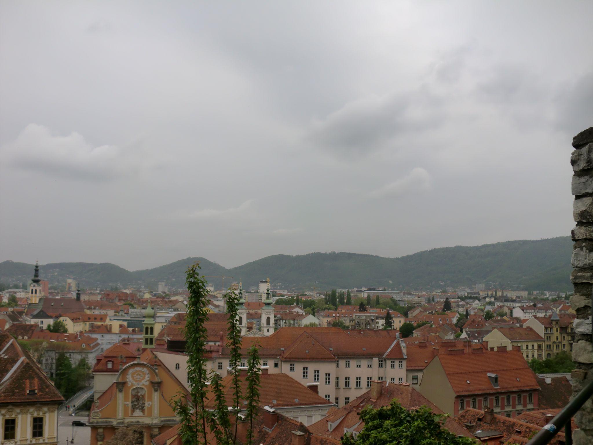 Graz view 2 - Graz: tradition and modernity