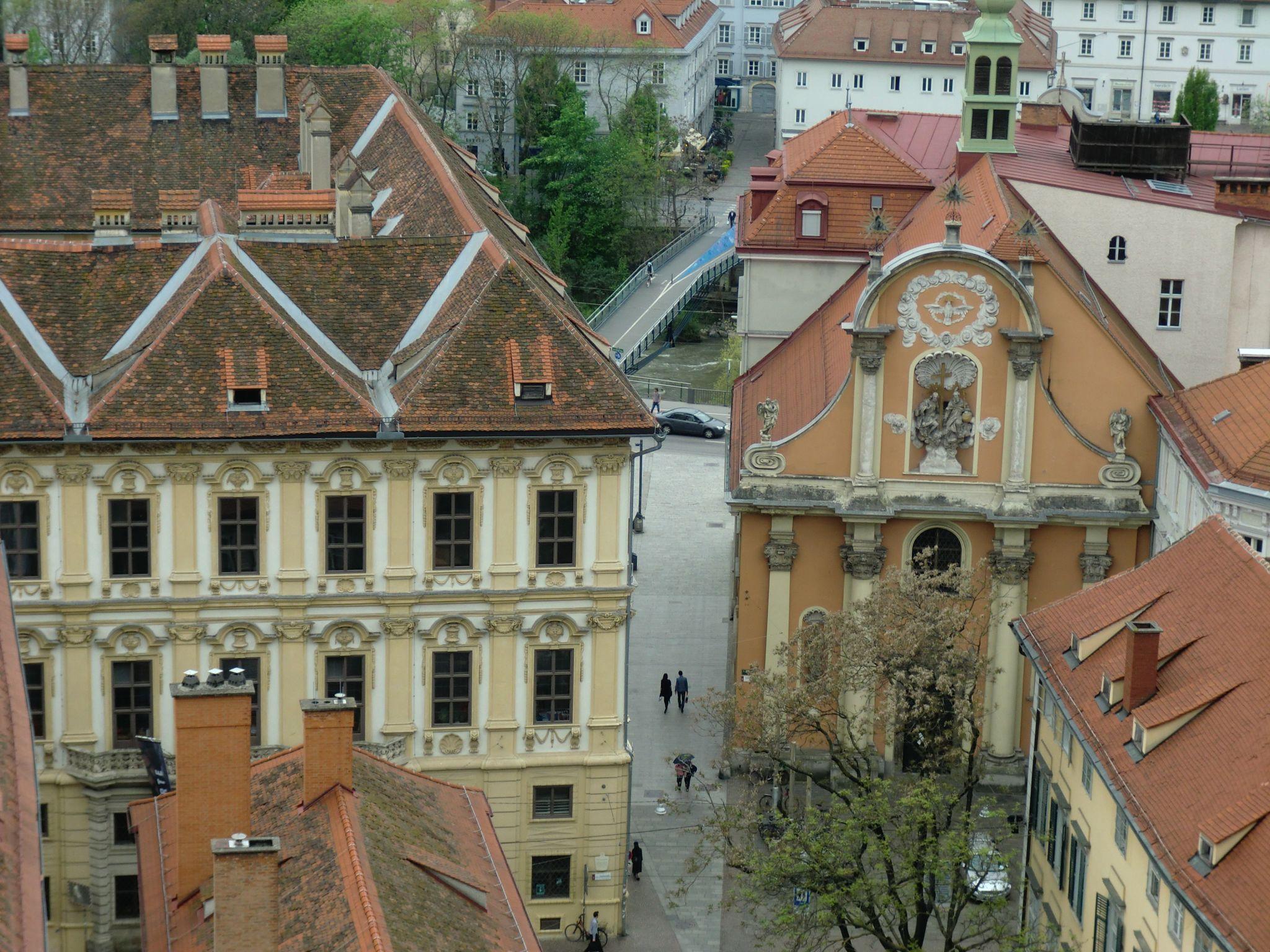 Graz view 5 - Graz: tradition and modernity