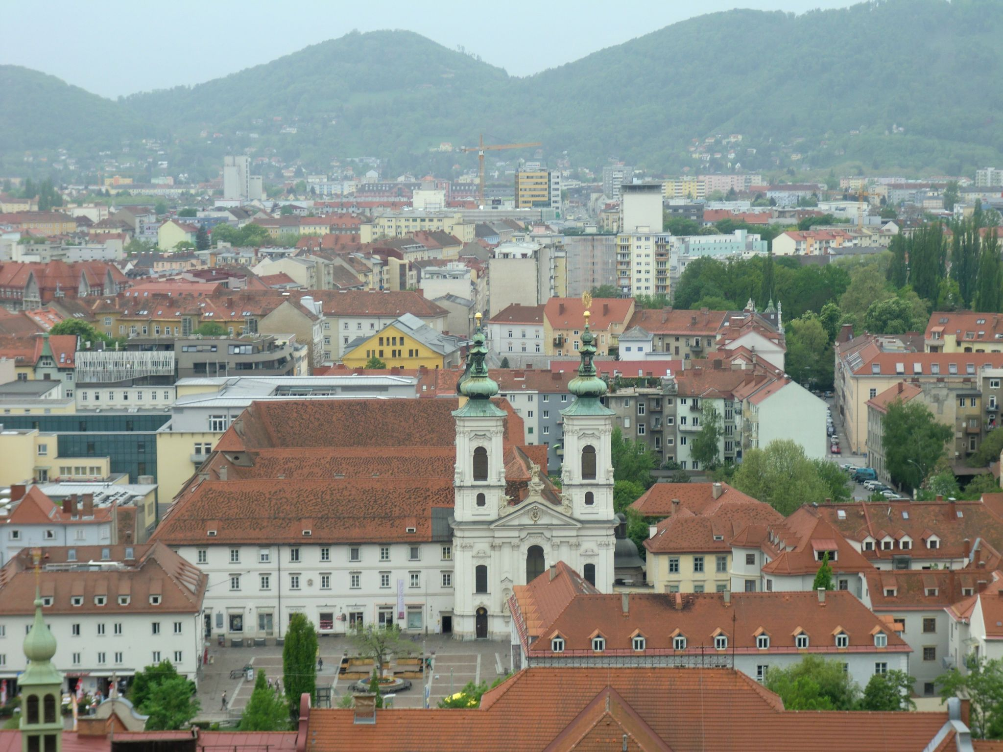 Graz view 6 - Graz: tradition and modernity