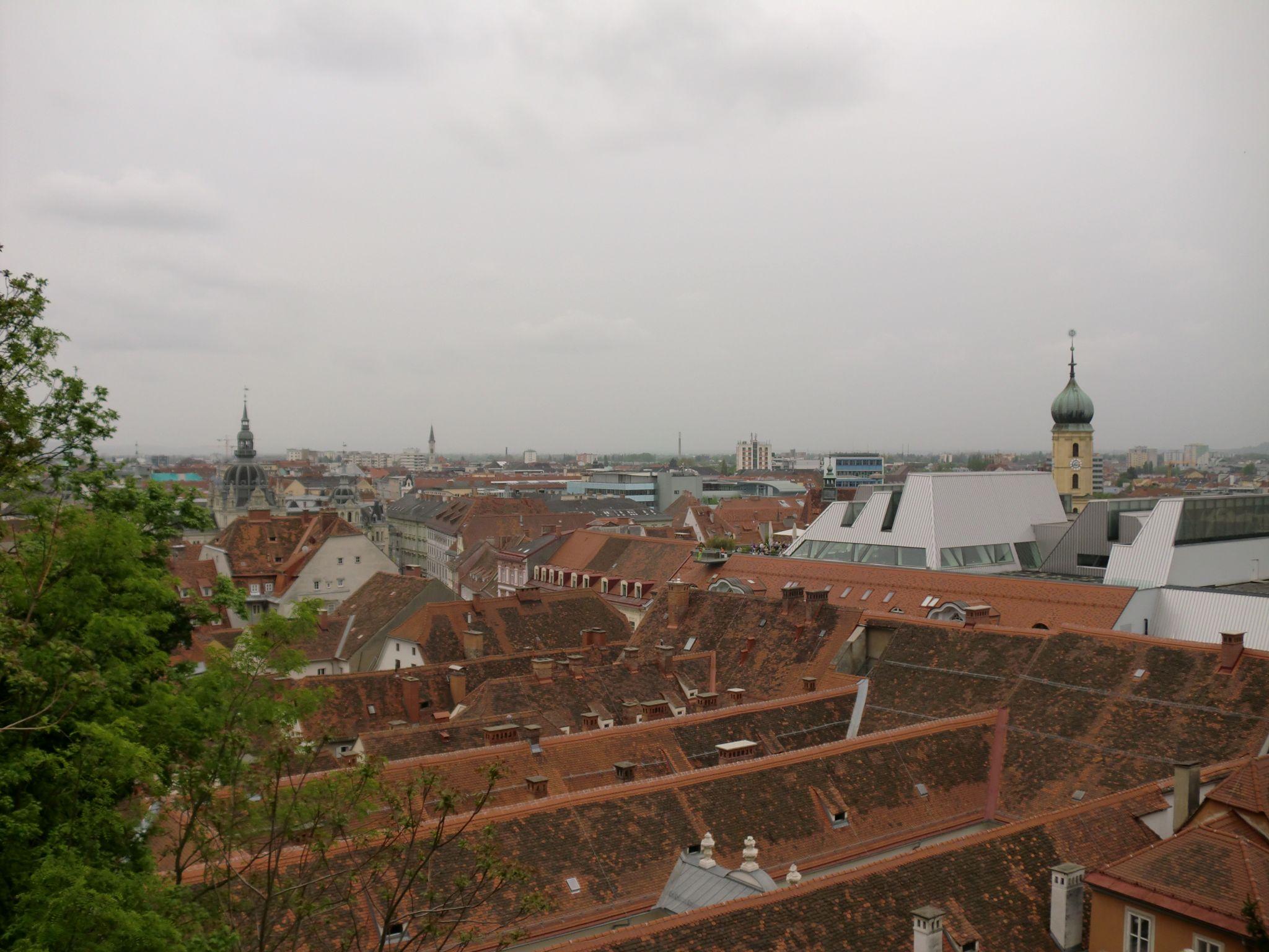 Graz view - Graz: tradition and modernity