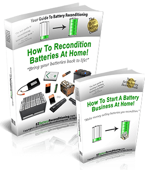 EZ Battery Reconditioning and Battery Business Guide - Recharge batteries and make huge money to travel now