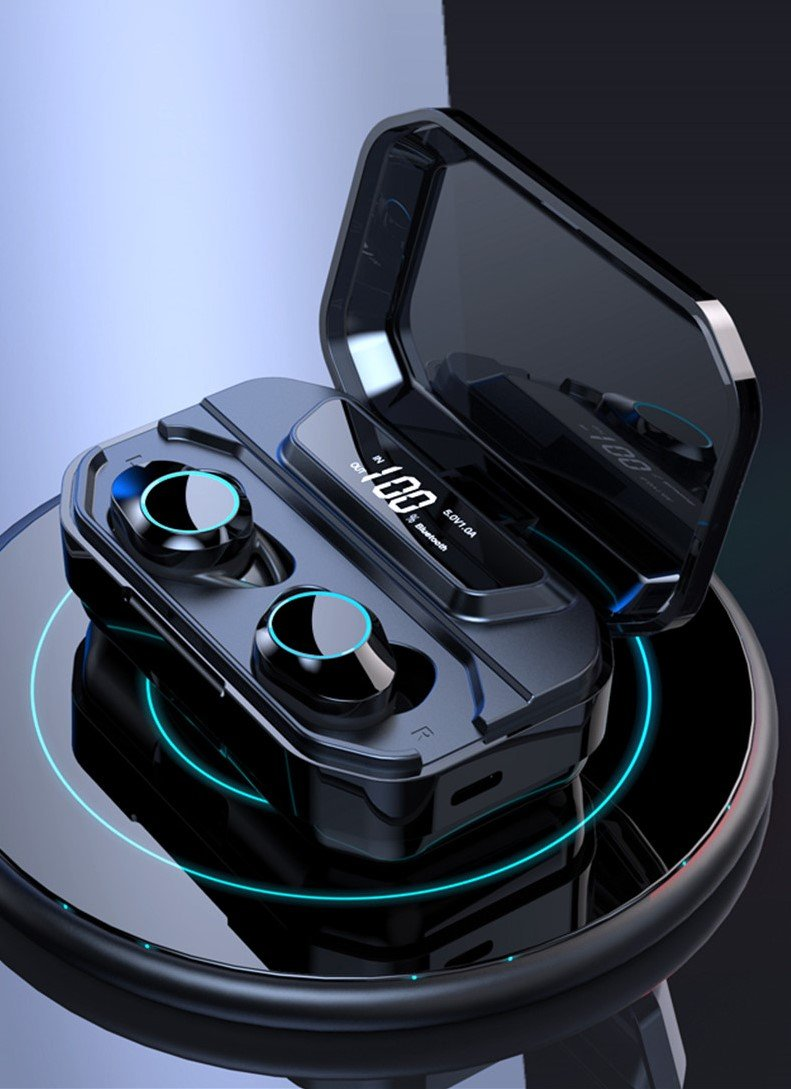 Bluetooth 9D Stereo Earphone Wireless