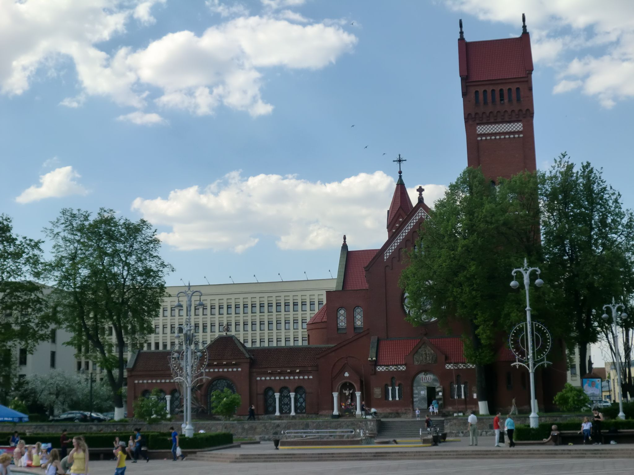 Minsk Red church 1 - Minsk, 1 amazing city you have to see