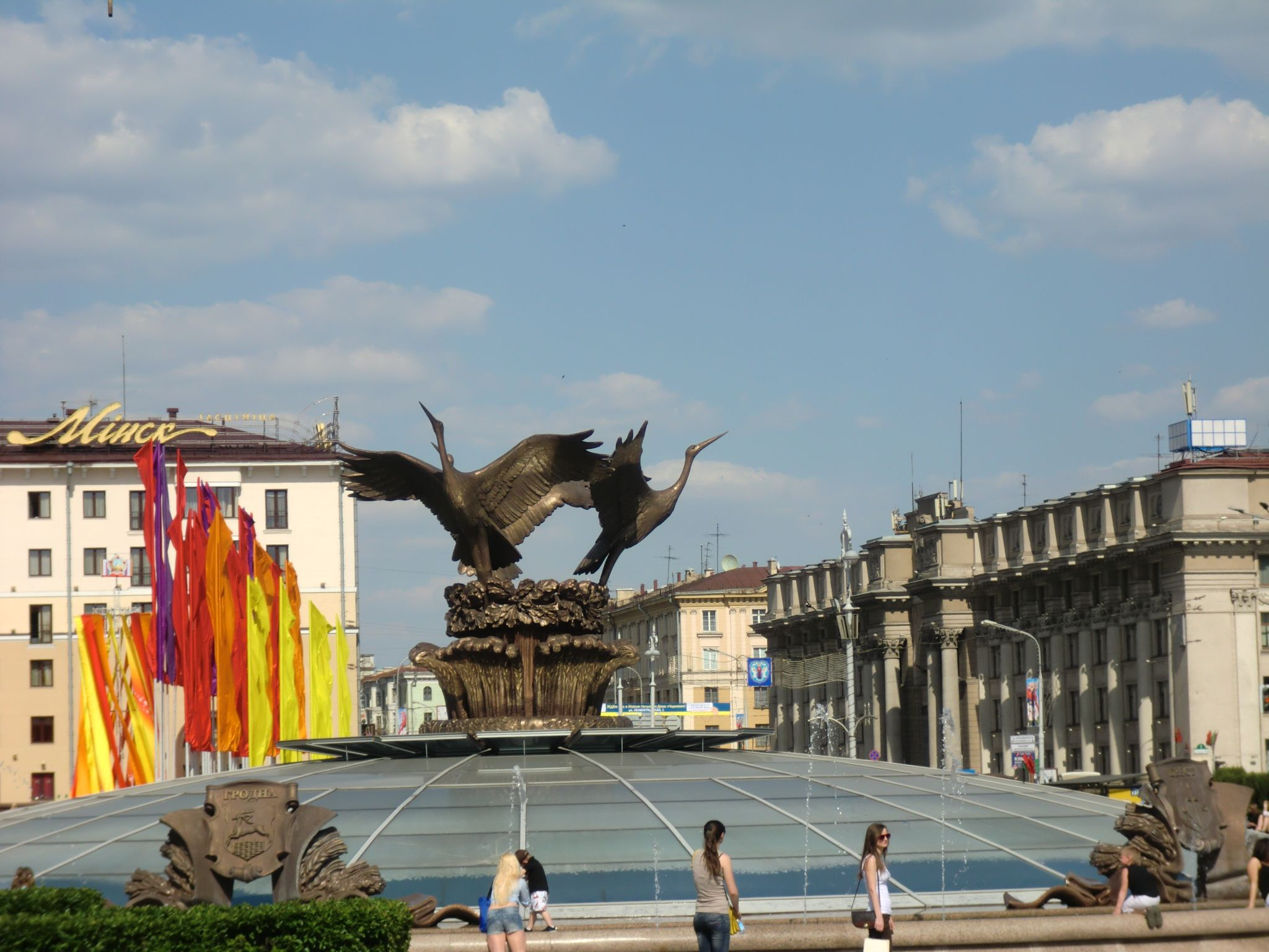 Minsk square 3 - Minsk, 1 amazing city you have to see