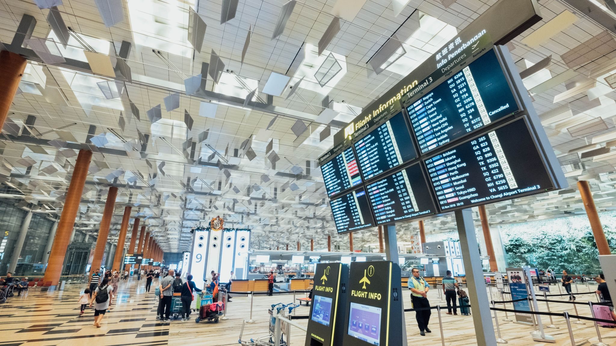 Airports' Wi-Fi Passwords