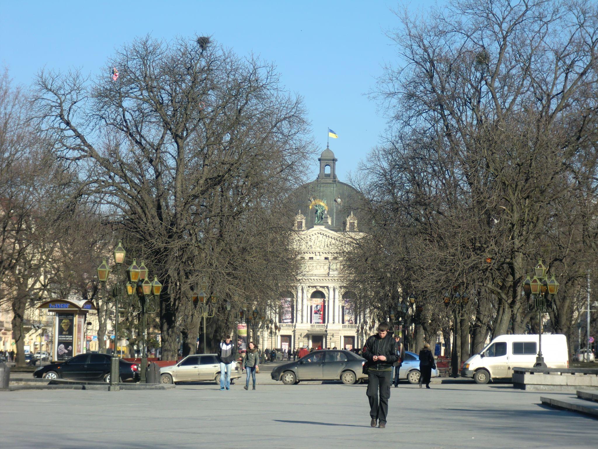 Lviv buildings 3 - Lviv, the Ukrainian pearl