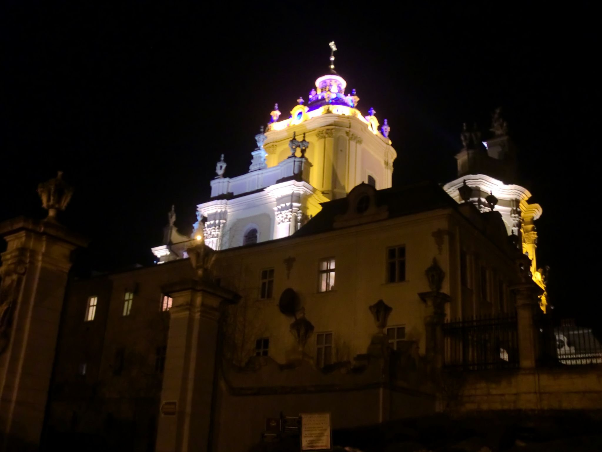 Lviv cathedral 1 - Lviv, the Ukrainian pearl