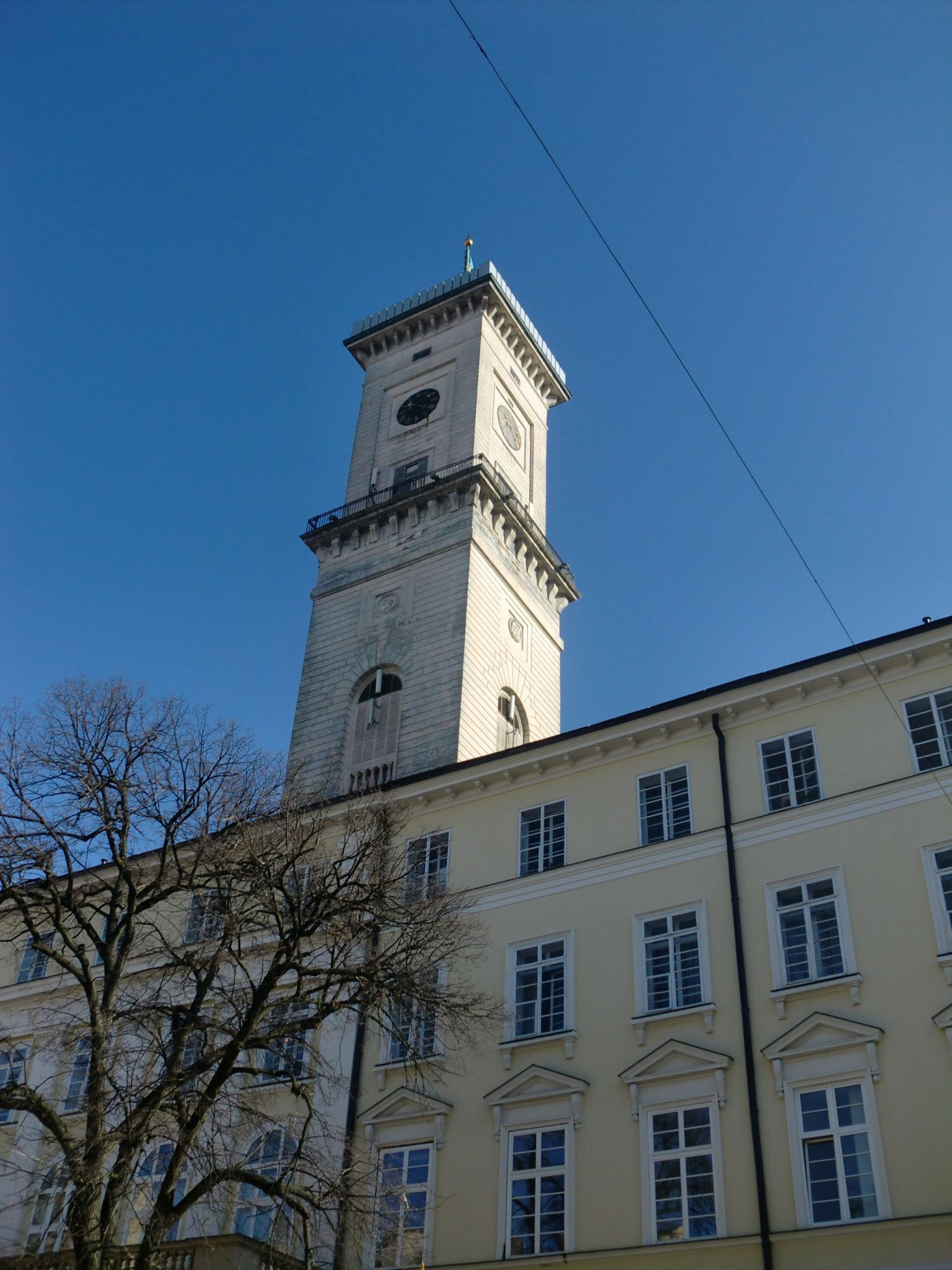Lviv city hall - Lviv, the Ukrainian pearl