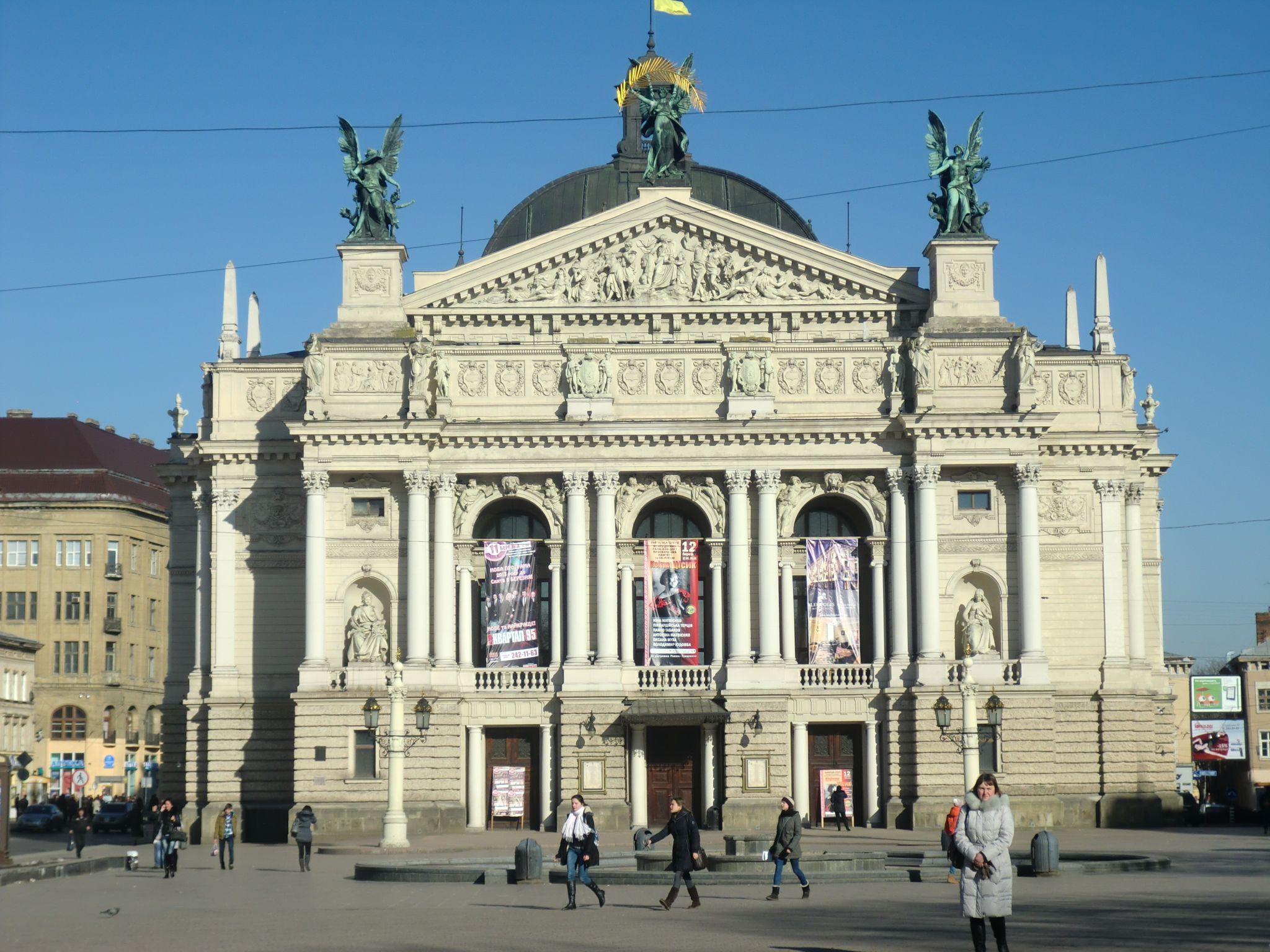 Lviv opera - Lviv, the Ukrainian pearl
