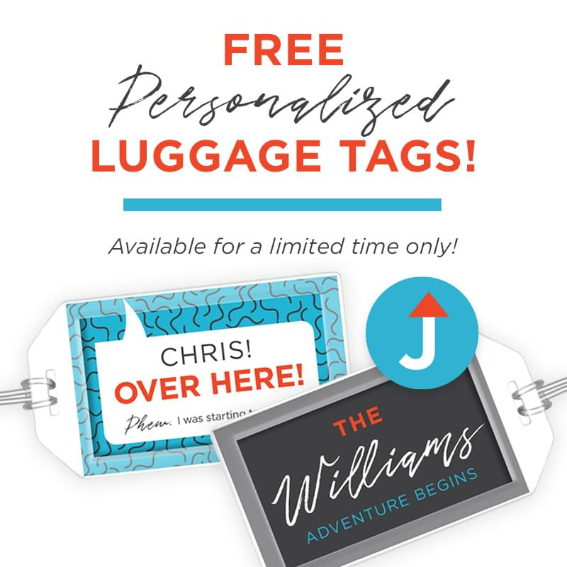 800x800 Free Luggage Tags Design 1 - Travel preparation tips: 13 huge hints improving your trips