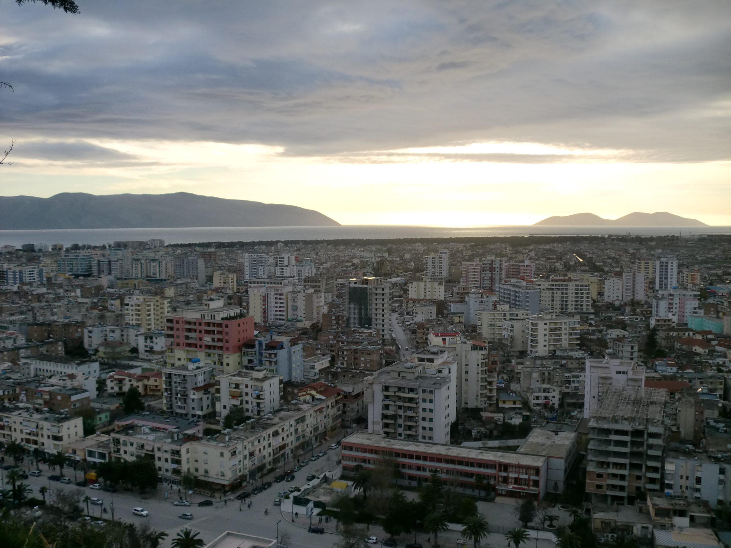 vlora view from kuzum baba