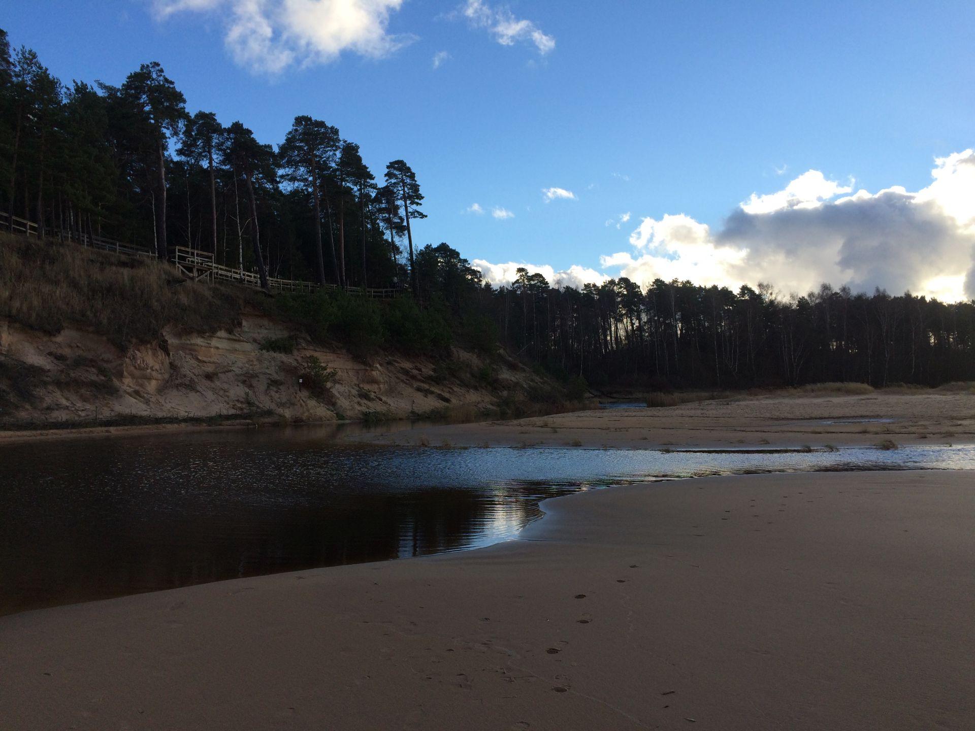 Saulkrasti beach