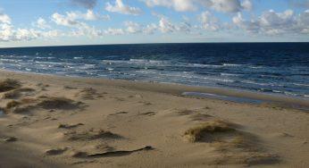 Saulkrasti beach in Latvia