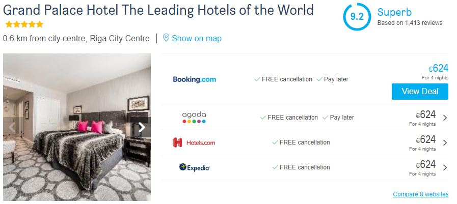 hotelscombined reviews