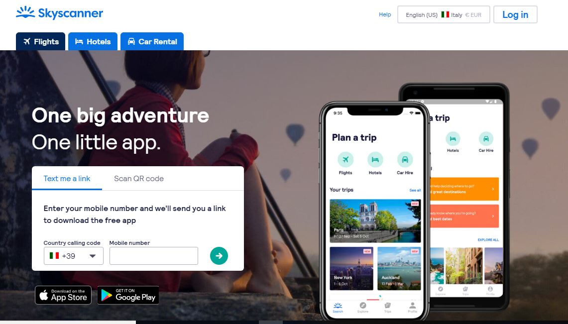 cheap skyscanner flights app - Cheap Skyscanner flights