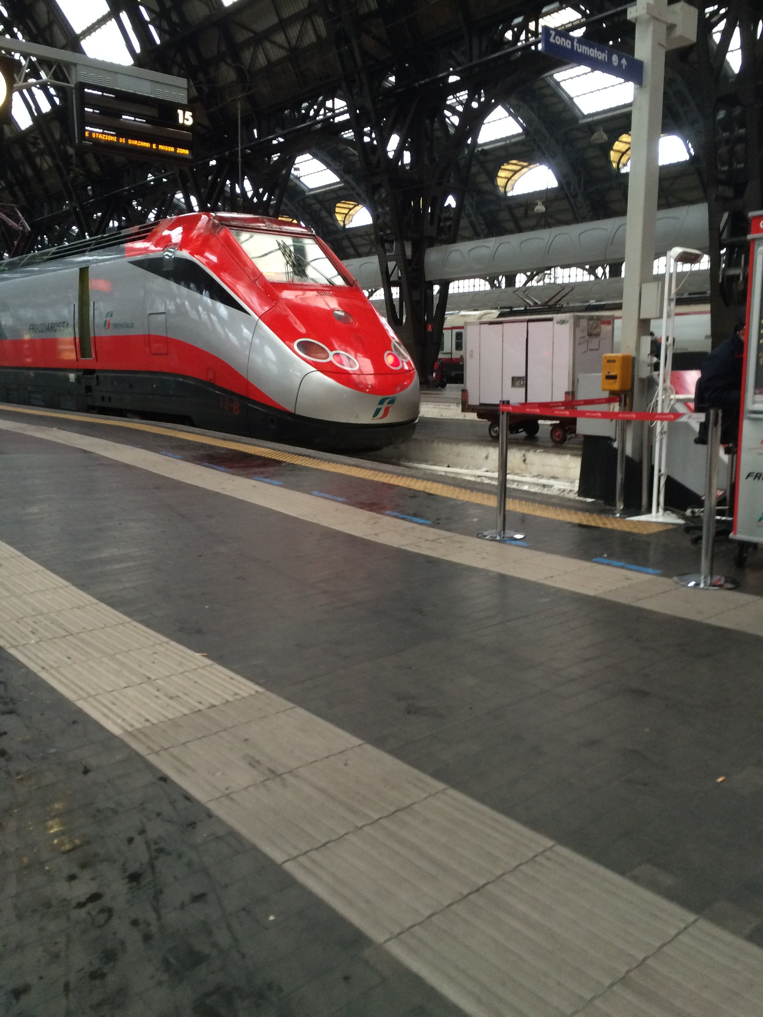 visit italy by train freccia rossa milan