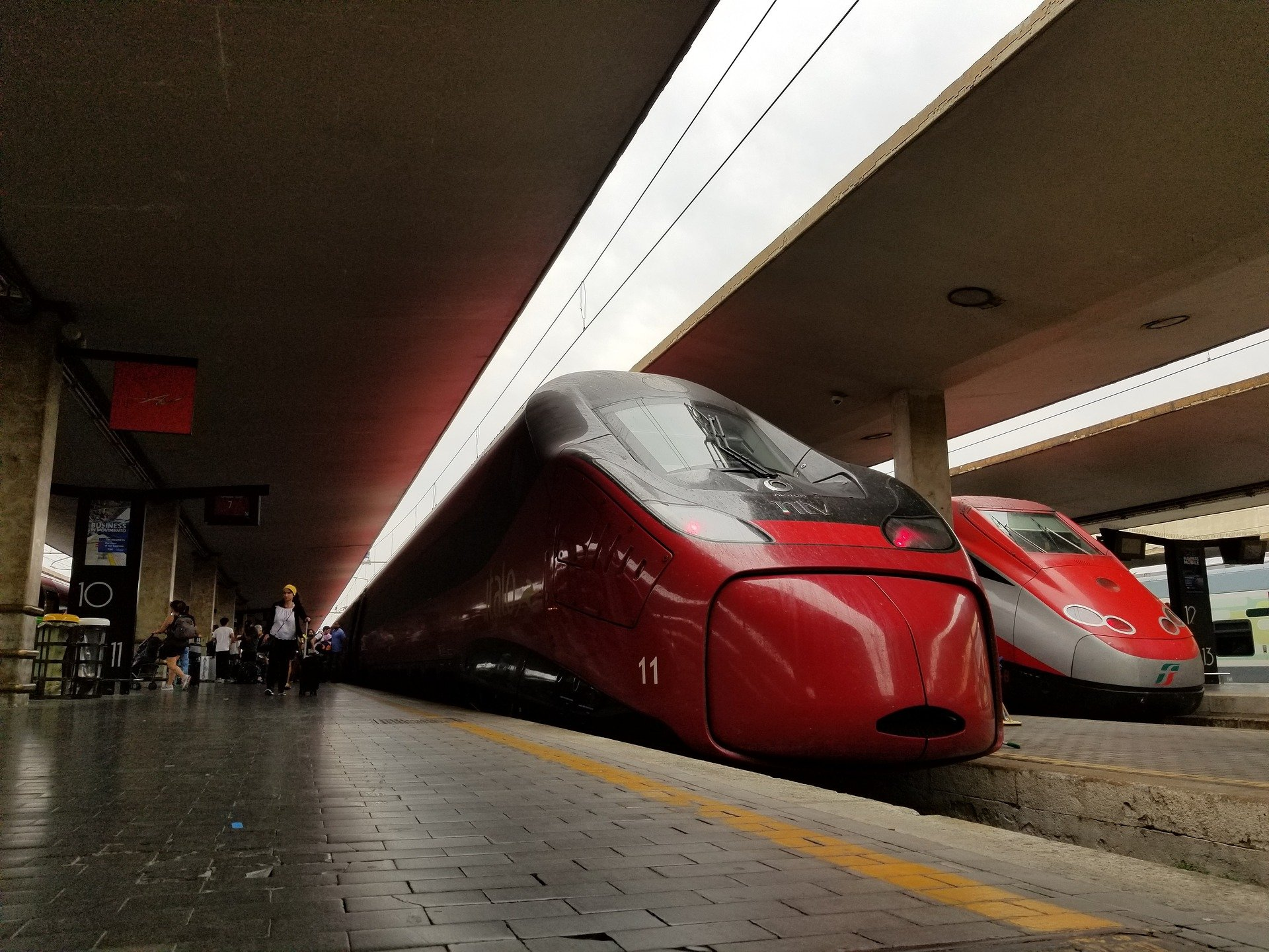 visit italy by train