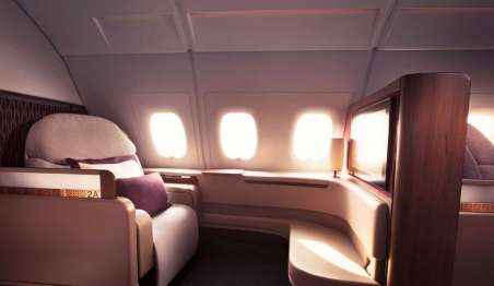qatar airways first class - first class in qatar airways